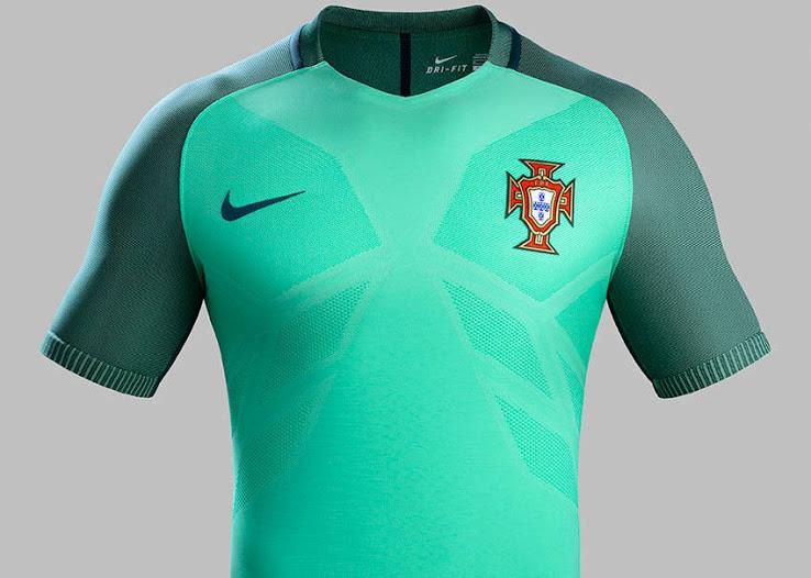 áo đội tuyển bồ đào nha xanh