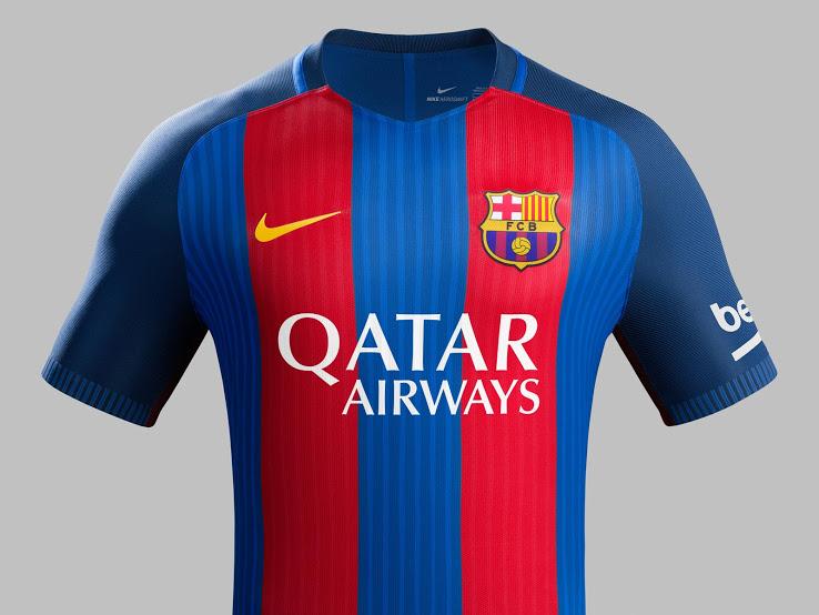 Qatar Airways vẫn là nhà tài trợ áo 2017 củaBarca